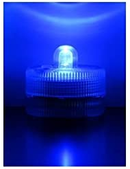 Lookout sumergible recargable luces LED de color blanco, azul