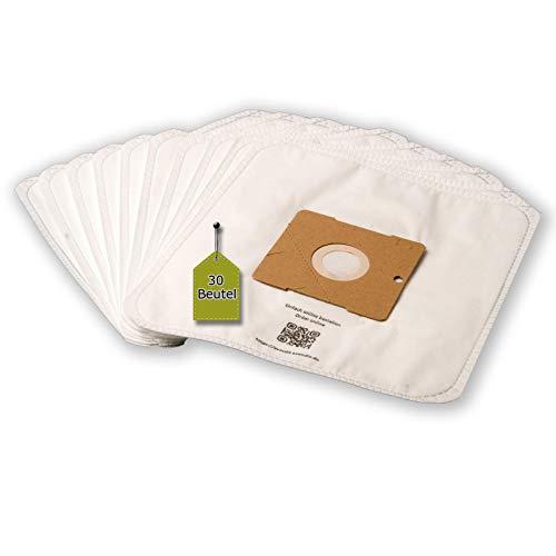 eVendix Staubsaugerbeutel passend für Sinbo SVC - 3449 | 30 Staubbeutel + 3 Mikro-Filter | kompatibel mit Swirl Y101