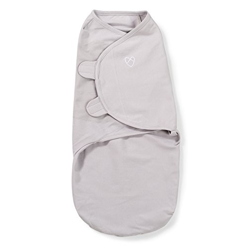 SwaddleMe-Original Pucksack, groß (4-6 Monate), grau (1er Pack)