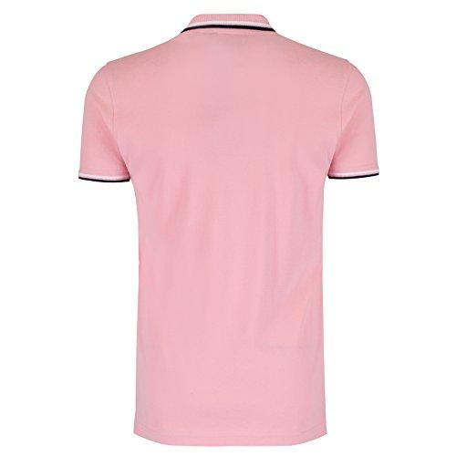 Brave Soul Herren Poloshirt Rosa - Blassrosa