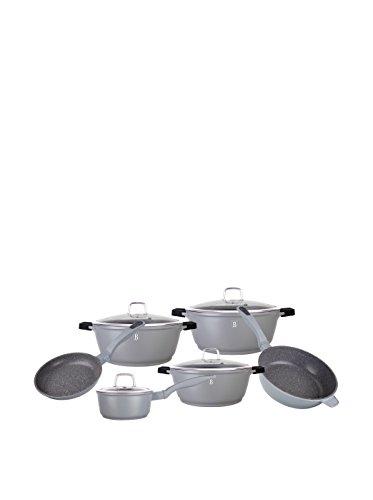 Berlinger Haus Batería de cocina 10 Piezas Granit Diamond Line