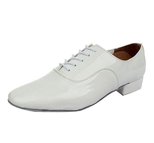 Lihaer scarpe da ballo jazz di danza latina comode e resistenti ballroom scarpe da ballo da uomo professionali