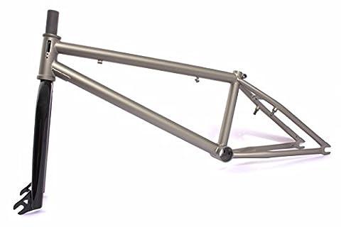 KHE BMX set Strike Down Pro Cadre bronze Effect avec fourchette et Affix Rotor Set J5