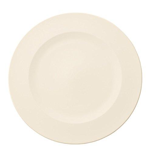 Villeroy & Boch 10-4153-2680 Assiette de Présentation Porcelaine Blanc 36 x 35,5 x 3 cm 1 Assiette