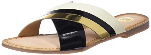 Gioseppo Women's 44130 Open Toe Sandals, Black, 7 UK