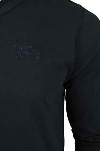 Tokyo Laundry Herren T-Shirt 'Winter Pines' Dark Navy
