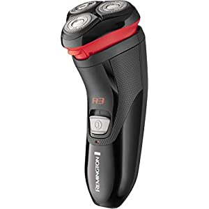 Remington R3000 Style Series R3 Electric Shaver, Corded Rotary Razor with 3-Day Stubble Trimmer and Pop-Up Trimmer