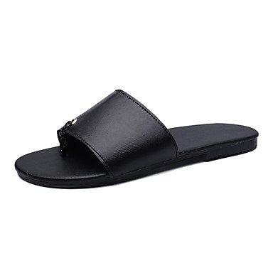 Slippers & amp da uomo;Luce Estate Suole PU casual Nero / Rosso Nero / Bianco Nero Bianco Sandali sandali US8.5-9 / EU41 / UK7.5-8 / CN42