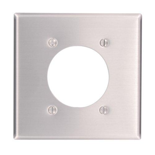 Leviton 83026Objektbereich Flush Mount 2.15-inch Durchmesser, Gerät mit Wanddose Behälter, Standard Größe, Gerät Halterung, Aluminium (Flush Leviton)