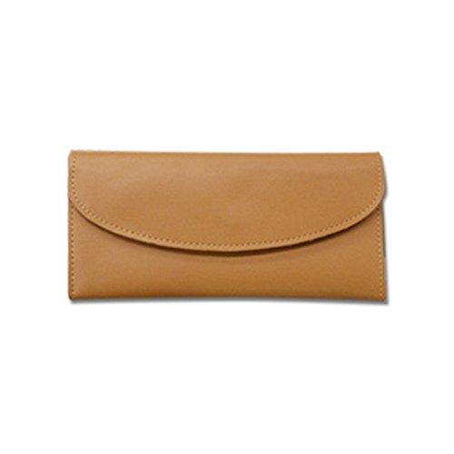 Eysee, Poschette giorno donna giallo Brown 19cm*11cm*2cm. Khaki