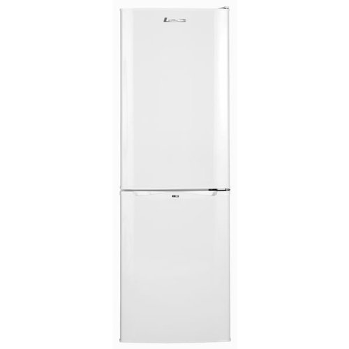 Lec TS50152W 192L 153x50cm Freestanding Fridge Freezer - White