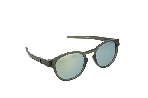 Oakley Herren Sonnenbrille Latch Mehrfarbig (Matte Olive Ink), 52