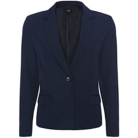 oodji Collection Donna Blazer Classico Aderente