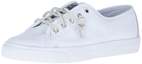 Sperry Top Sider Seacoast Damen US 8.5 Weiß Turnschuhe (Sider Top Seacoast Sperry)