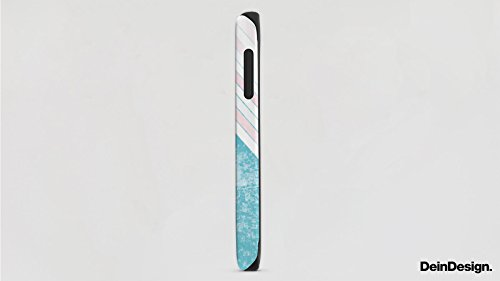 Apple iPhone 5s Housse étui coque protection Bandes Printemps Couleurs Cas Tough terne