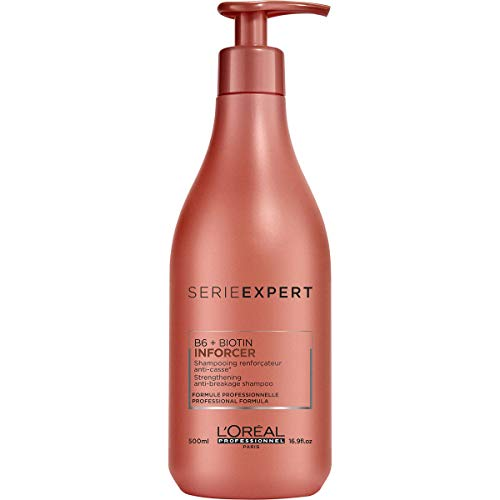 L'Oréal Professionnel Serie Expert Inforcer Shampoo, Aufbauend, stärkend und kräftigend, 1er Pack (1 x 500 ml)