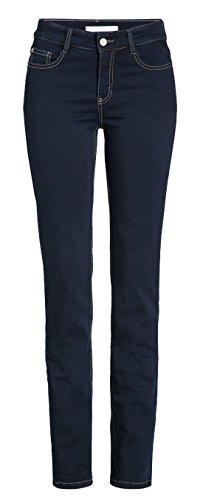 MAC Damen Jeans Angela 5240 dark rinsewash D801 (40/30)