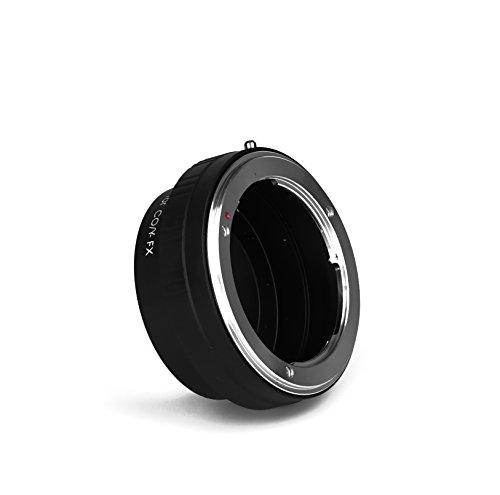 CY-FX Objektivadapter Kompatibel für Contax CY Objektiv an Fuji FX Kamera Adapter X Mount