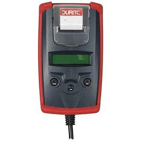 Durite 0–Tester per batterie 6/12Volt con funzione Start/analizzatore di carica 12/24Volt CD1524–72
