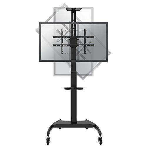NEWSTAR PLASMA-M1900E Mobile Flat Screen Floor Stand Height: 130-162cm 37-70Zoll Mobile Flat-screen