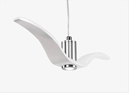 Suspensions Personnalisé mouette pendentif éclairage post-moderne créatif restaurant chambre salon hôtel hall décoratif lampes (C), 001
