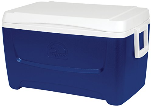 IGLOO Unisex Island Breeze 48 Kühlbox, Blau, Majestic Blue, Quart