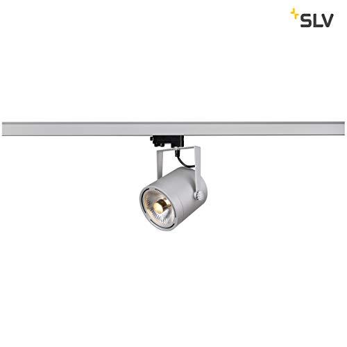 slv binario  SLV, Faretto tondo per illuminazione su binario, incl. adattatore ...