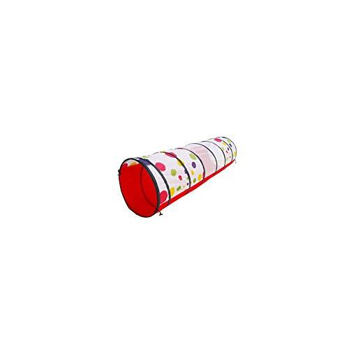 Enfants Pliable Multicolore Long.DUREE Tunnel Crawl Et Explorer Tente pour La Santé Promeut Remise en Forme, d'apprentissage Et Le Développement Musculaire
