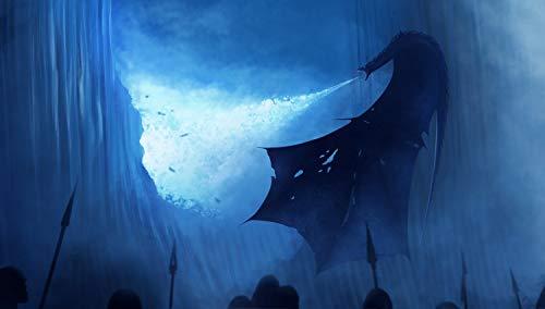 bubbleshirt Poster Drago sulla barriera, Guardiani della barriera, The...
