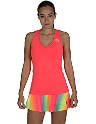 a40grados Sport & Style, Camiseta Cielo Rosa, Mujer, Tenis y Padel (Paddle