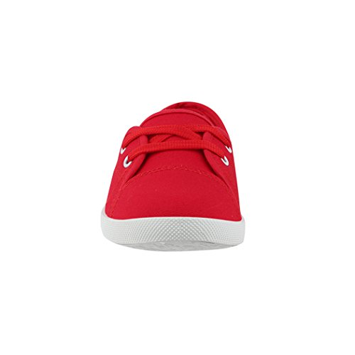 Elara Damen Ballerinas | Bequeme Sneaker Slipper | Schnürer Halbschuhe | Sportlich Flats | Chunkyrayan - 4