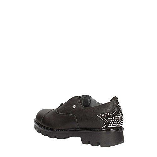 Lace UB23381 Shoes LIU Up Noir Femme JO GIRL twqtp8f
