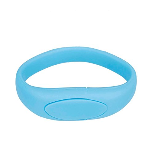 Hunpta USB 2,0 8 GB Flash-Laufwerk Memory Stick Pen Disk Digital U Speicherplatte (Sky Blue) (Blue Digital Sky)