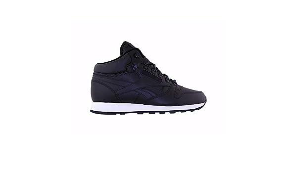 Reebok CL Leather Mid Basic bd2539 Couleur: Noir