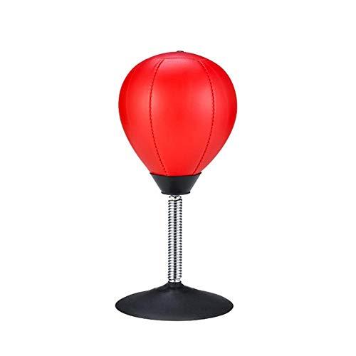 BEENZY Punchingball Tisch - Boxbirne Schreibtisch- Entlastet Stress & Übung - Super Starker Saugnapf Hält Sicher Auf Glatter, Ebener Und Trockener Oberfläche - Mit Saugnapf
