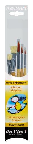 daVinci GH4211 Allround- Malpinsel-Set Serie 4211 (Junior-werkzeug-set)