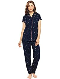aaa88d85396 Night Suit: Buy Pajamas For Women online at best prices in India ...