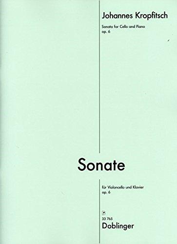 SONATE OP  6   BOOK