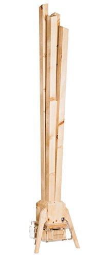ZirbenLüfter CLASSIC, natürlicher Luftbefeuchter / Luftreiniger aus Zirbe / Zirbenholz. - Räume bis 60 m2