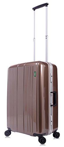 lojel-superlative-frame-polycarbonate-small-upright-spinner-luggage-bronze-one-size