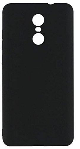 finest selection edf09 b1b8f Redmi Note 4 Back Cover, Xiaomi Redmi Note 4 Back Cover, Johra Rubberised  Matte Hard Black Back Cover Case For Redmi Note 4 Back Cover