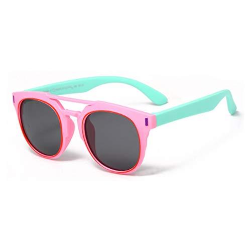Noradtjcca Kinder polarisierte Sonnenbrille für männer Frauen Kinder Faltbare Shades silikonrahmen zum Schwimmen Laufen Radfahren Fahren