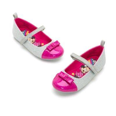 Light Cinderella Up Schuhe (Authentic Disney Store - Minnie Maus Silber, Pink Dressy Schuh - Mädchen / Kinder, Größe:)