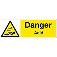 Caledonia segni 14401 G acido Danger Sign, 300 mm x 100 mm, plastica rigida