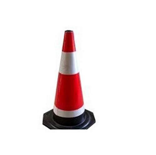 Gummikernkegel reflektierender Kegel kein Parken Hochgeschwindigkeits-Straßensperre Verkehrseinrichtungen Sicherheitswarnkegel (3er Pack) -