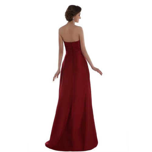 Lemandy - Robe - Sans Manche - Femme rouge Red red