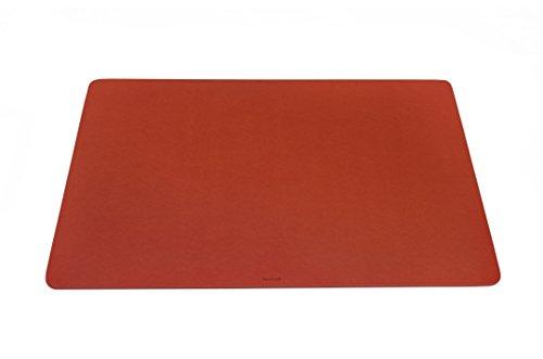 Durable Schreibtischunterlage mit abgerundeten Ecken 65 x 40 cm - Made in Italy (Orange)