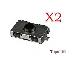 Switch bouton clé télécommande plip pour Peugeot 206 107 307 406 pour Citroen C3 C2 TOPALLI ©