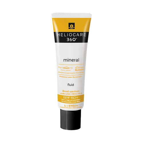 Heliocare 360° mineral fluid, SPF 50+ 50 ml gel
