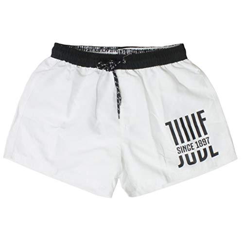juve costume ragazzo boxer pantaloncino in nylon JUVENTUS prodotto UFFICIALE nuova collezione art. JU20005 (bianco, 14 anni)